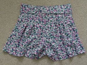 Girl's Floral Shorts from TU at Sainsburys Age 8 Years