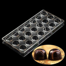 Bullet Shaped PC Chocolate Molds Polycarbonate Candy Mould Pastry Baking Tools