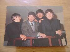 carte postale Postcard THE BEATLES Edug 371 ROCK'N ROLL Italcolor