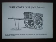 POSTCARD  CONTRACTORS CART (HULL PATTERN)
