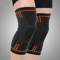 Knee Brace Support Compression Sleeve Breathable Pad for Running,Sports, Relief