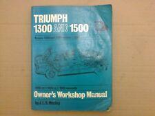 Triumph 1300 1500 1300 TC Haynes Workshop Manual J.L.S Maclay
