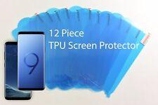 Lot of 12X Edge to Edge TPU Clear Screen Protector Samsung Galaxy S8+/S9+ Plus