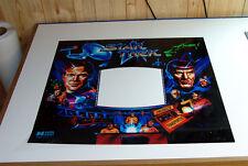 Data East STAR TREK 25th Anniversary Pinball Machine New Translite