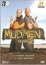 MUD MEN SERIES 2 (TWO) - 3 DVD BOX SET -WITH JOHNNY VAUGHAN & STEVE BROOKER