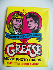 VINTAGE GREASE MOVIE SERIES 1 PHOTO CARDS -NEW SEALED 1978