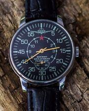 "Soviet watch Vintage Mechanical Men's Watch Pobeda ""Military air reconnaissance"""
