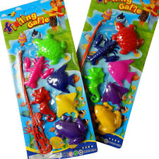 Plastic Magnetic Fishing Toy Set for Baby Kids Pretend Play Pack of 7 Model