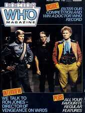DOCTOR WHO MAGAZINE #101 RON JONES, THE TWO DOCTORS REVIEW, THE MARK OF RANI