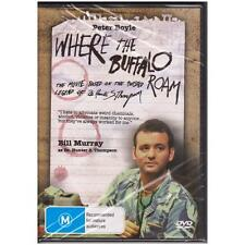 DVD WHERE THE BUFFALO ROAM Bill Murray Peter Boyle Biographical Comedy R4 [BNS]