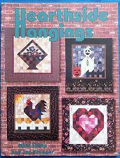 Hearthside Hangings Quilt Pattern Book 21 Designs - 1999 Shimp Kruger