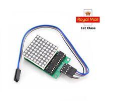 MAX7219 8x8 Red Dot Matrix Module Display Module Kit for Raspberry Pi Arduino