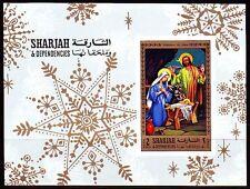 Sharjah 1970 ** Bl.77 B Jesus Religion I