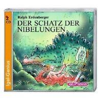 RALPH ERDENBERGER - DER SCHATZ DER NIBELUNGEN 2 CD HÖRBUCH KINDER NEU