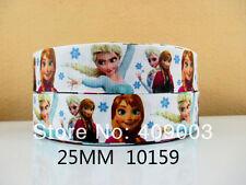 """Disney frozen ruban large 1"""" neuf uk vendeur"""