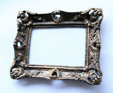 Gothic Frame Black Gold Patina Classic Style, Worldwide Delivery, Handmade