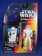 Star Wars POTF 2 1995 Stormtrooper - Red Card  - Power of the Force – MIMP