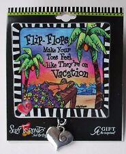 r Flip flops make your toes feel like on vacation SUZY TORONTO CAR VISOR CLIP