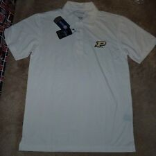 NEW NCAA Purdue Boilermakers Golf Polo Shirt Men S Small Oxford Veri Cool NWT