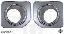Fog Lamp Bezels Chrome for Land Rover Discovery 4 Facelift surrounds trim bumper