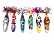 KOOKY KLICKER KOLLECTIBLE BALL POINT KREW 63 CLOWN SKATE CLIP GIFT PEN PARTY 6pk