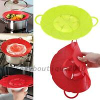 Silicone Anti-overflow Handy Lid Kitchen Gadgets Spill Stopper Pot Cover 25.8cm