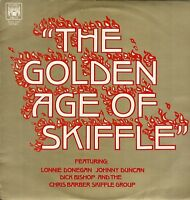 "THE GOLDEN AGE OF SKIFFLE Donegan Duncan Collectible Vintage Vinyl 12"" LP  KDA"