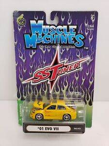 Muscle Machines SS Tuner '01 Evo VII Yellow