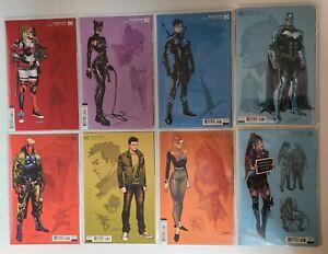 Batman #97 98 99 100 101 103 Ratio 1:25 Jimenez Design Variants + Punchline #1