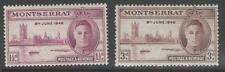 MONTSERRAT SG113/4 1946 VICTORY MTD MINT