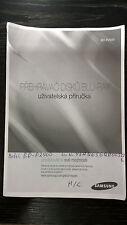 PL manual manual de instrucciones Samsung Blu-ray Disc player bd-p2500 edc