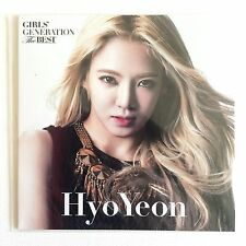*RARE* SNSD Girls Generation HYOYEON THE BEST MUSIC CARD [Jessica/Yuri/Taeyeon]