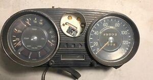 45072 Mile VDO Instrument Cluster out of 1968 Mercedes Benz 280SE  —T2