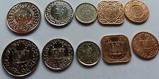 SURINAM 5 coins