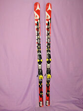 ATOMIC Redster SG D2 FIS Norm RACE skis 185cm w/ Atomic X12  bindings on plates~