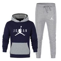 Men's Michael Air Legend 23 Jordan Tracksuit Hoodies & Pants Men Gym Sportswear
