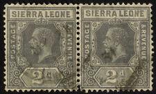 Used Multiple Sierra Leonean Stamps (1808-1961)