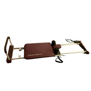 Stamina Pilates Reformer Exercise Machine 4 Cord  w rebounder & toe bar
