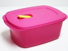 Tupperware Crystalwave Heat2Eat Microwave Reheatable Rectangular Lunch Box 1.7L