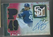 2014 Topps Triple Threads Casey Kelly Auto Relic #d 1/1 San Diego Padres