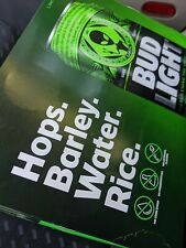 New listing Empty 12 Pack Limited Edition Bud Light Earth Cans Alien Area 51 Box included