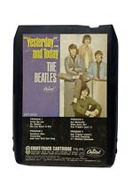1970 The Beatles Yesterday And Today 8 Track Cartridge Capitol 8XT-2553