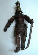 LORD OF THE RINGS LOTR ROTK RETURN KING MORDOR ORC LIEUTENANT 100% COMPLETE RARE