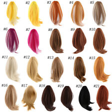 Mixed-colored Fashion Dolls Hair Wigs Hairpiece Fit For 18'' American Doll Dolls