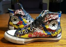 "+CONVERSE All Star Chuck Taylor size Men's 6 / Women's 8 ""SUPERMAN"" Canvas"