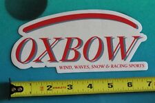 Oxbow Wind Wave Snow Racing Sports Decal Surf Fusion Vintage Surfing Sticker