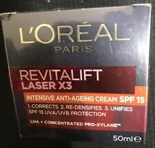 LOREAL Paris Revitalift Laser x3 Intensive anti-ageing moisturiser SPF15 GERMANY