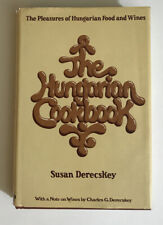 The Hungarian Cookbook Susan Derecskey Hardcover Dust Jacket 1972
