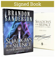 !!SIGNED 1/1!! Shadows for Silence, Perfect State Book by Brandon Sanderson Hx