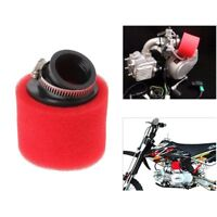 38mm 45Degree Double Foam Angled Air Filter Pod Cleaner Fit for 90cc 110cc 125cc